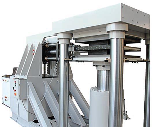 Elastomeric Bearing Test Machine